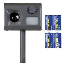 Weitech Garden PROTETTORE 3 Incl. 4 mono / D.batterie - dissuasore per gatti