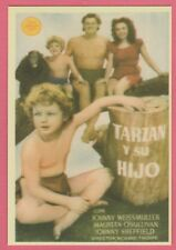 Spanish Pocket Calendar #229 Tarzan Finds a Son! Film Poster Johnny Weissmuller