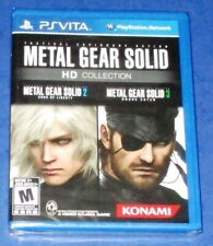 Metal Gear Solid HD Collection PlayStation Vita *New! *Sealed! *Free Shipping!