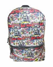 Official Batman Comic Strip Backpack