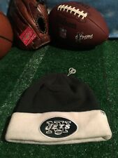 New York Jets winter hat beanie new without tags one size fits all H23
