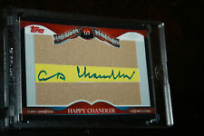 2009 Topps American Legends Signature Happy Chandler HOF Auto 1/1