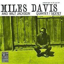 MILES/JACKSON,MILT DAVIS - QUINTET/SEXTET  CD NEUF
