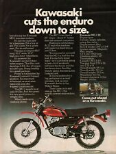 1973 Kawasaki MC-1 Mini-Enduro 90 - Vintage Motorcycle Ad