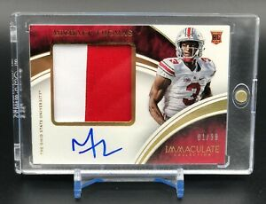 2016 Immaculate Collegiate Rookie Patch Auto Michael Thomas 1/99 Ohio State