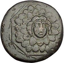 AMISOS in PONTUS MITHRADATES VI the GREAT Gorgon Aegis Nike Greek Coin i53931