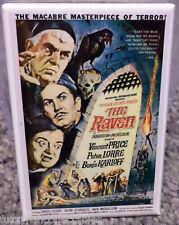 "Raven Movie Poster 2"" x 3"" Refrigerator Locker MAGNET Price Lorre Karloff"