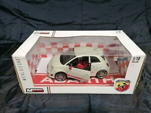 Fiat 500 Abarth Mondo Motors 1:18