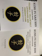 New! San Soo Kung Fu Yellow Belt Leverages And Combos Plus Primary And White