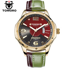 TOMORO Brand Luxury Famous Men Original  Quartz Watch