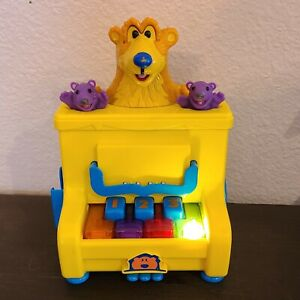 Bear in the Big Blue House Piano Toy Play Songs with Bear Pip and Pop RARE WORKS