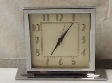 Herman Miller Gilbert Rohde Clock Skyscraper Circa 1934 Very Rare Worldwide Ship