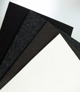 Filzplatte stark selbstklebend, DIN A4 Profi Industriefilz, Filz 2 3 6 10mm dick