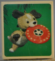 Hallmark - Frisbee Puppy - Classic - Ornament 1984