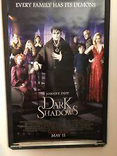 Dark Shadows - Original Ds 27x40 Final Movie Poster