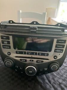 Honda Accord euro 2005 radio/aircon and bottom pocket