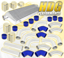 """27.5""""X2.7""""X7"""" Turbo Front Mount Intercooler+2.5"""" T6061 Aluminum Pipe Piping Kit"""