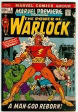 MARVEL PREMIERE #1 2.5 // 1ST APPEARANCE OF ADAM WARLOCK MARVEL COMIC 1972