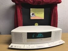 BOSE Wave Radio III 3 With IC-1 Integrated Control Panel Platinum White GREAT