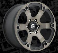 18x9 Fuel D564 Beast 5x127 ET1 Black Machined Tint Rims (Set of 4)