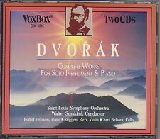 Dvorak - Susskind, St. Louis SO: Works for Solo Instrument & Orch. 2CDs Like New