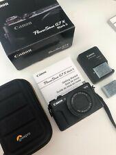 Canon PowerShot G7X Mark II 20.1 MP Compact Digital Camera - Brand New Condition