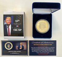 President Donald Trump...2020..KEEP AMERICA GREAT.. Commemorative Coin in  Case