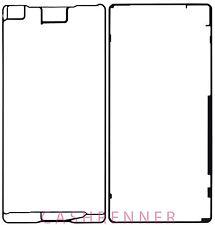 Set pegamento película adhesiva marco adhesive sticker frame Sony Xperia X Performance