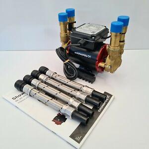 Grundfos Watermill Amazon STP-2.0 Bar Positive Twin Impeller Shower Pump