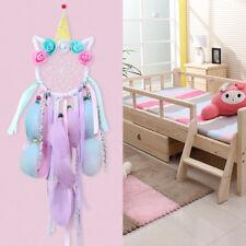 Unicorn Dream Catcher Bedroom Nursery Handwoven Handmade DreamCatcher Girls Gift