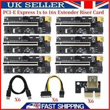 More details for ver009s plus pcie riser card usb 3.0 cable pci-e express 1x to 16x extender card