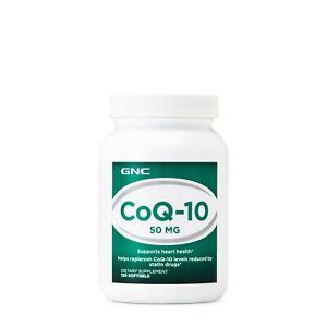 GNC COQ-10 50mg - 120 Softgels EX;03/2021
