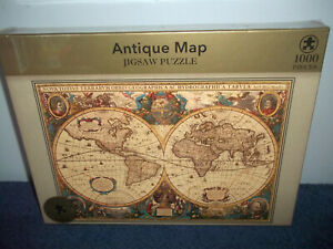 ANTIQUE MAP - MARKS AND SPENCER PUZZLE - 1000 PIECE JIGSAW - NEW & SEALED