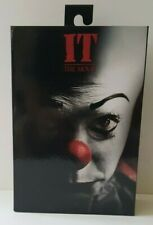 "NECA IT Pennywise Clown 1990 Version 2 Ultimate 7"" Action Figure 1:12 Collection"