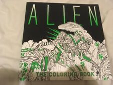 RIDLEY SCOTT / JAMES CAMERON ALIEN THE COLORING BOOK 1ST EDITION XENOMORPH