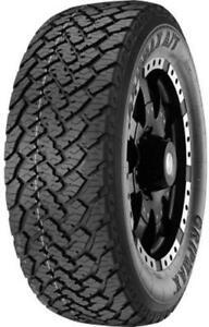 1X Tyres 285 60 R18 120T All Terrain SUV OWL Gripmax E C 73dB OutLine White Lett