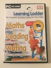 PC CD-ROM Learning Ladder Maths, Reading, Writing