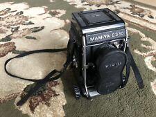 mamiya c330 body with 80mm lense