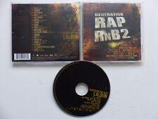 Génération RAP RnB 2 BOOBA ROHFF KOOL SHEN K MARO 113 MAGIC SYSTEM  FOUINE CD