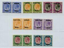 KGV SOUTH WEST AFRICA 1923 VERY RARE PART SET SCOTT & SG 32-38 PERFECT MNH