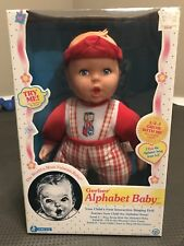 Vintage 1998 Gerber 15� Interactive Talking Singing Alphabet Baby