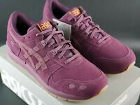 ASICS TIGER GEL LYTE EGG PLANT SIZE UK 8.5 EU 43.5 DS SHOE TRAINER SILHOUETTE