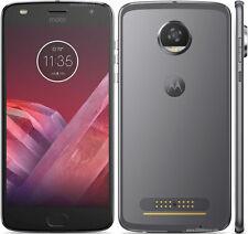 New listing Motorola Moto Z2 Play 32Gb Lunar Gray Gsm Unlocked Xt1710-01 Read Below Ez02507B