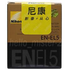 New Genuine  Original Nikon EN-EL5 battery for Coolpix P5000 S11 5900 P5