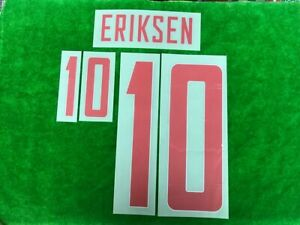 OFFICIAL Denmark Away 2020-21 EURO 2020 PLAYER ISSUE PRINT