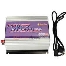 600W watt Solar Grid Tie Inverter DC 10.8V-30V TO AC 110V/120V 92% Efficiecy