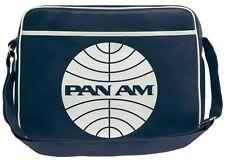Pan Am Tasche - large - Pan Am Umhängetasche - Kunstleder dunkelblau- LOGOSHIRT