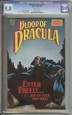 BLOOD of DRACULA #3 CGC 9.8 NM/MT WP early Sam Keith cover 1988 Apple Comics