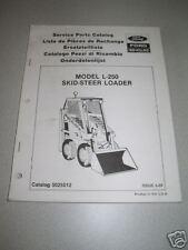 New Holland L250 / L-250 Skid Steer Loader Parts Manual