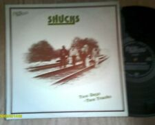 SHUCKS. TWO DAYS - TWO TRACKS. RARE COUNTRY BLUEGRASS LP 1975 EXC